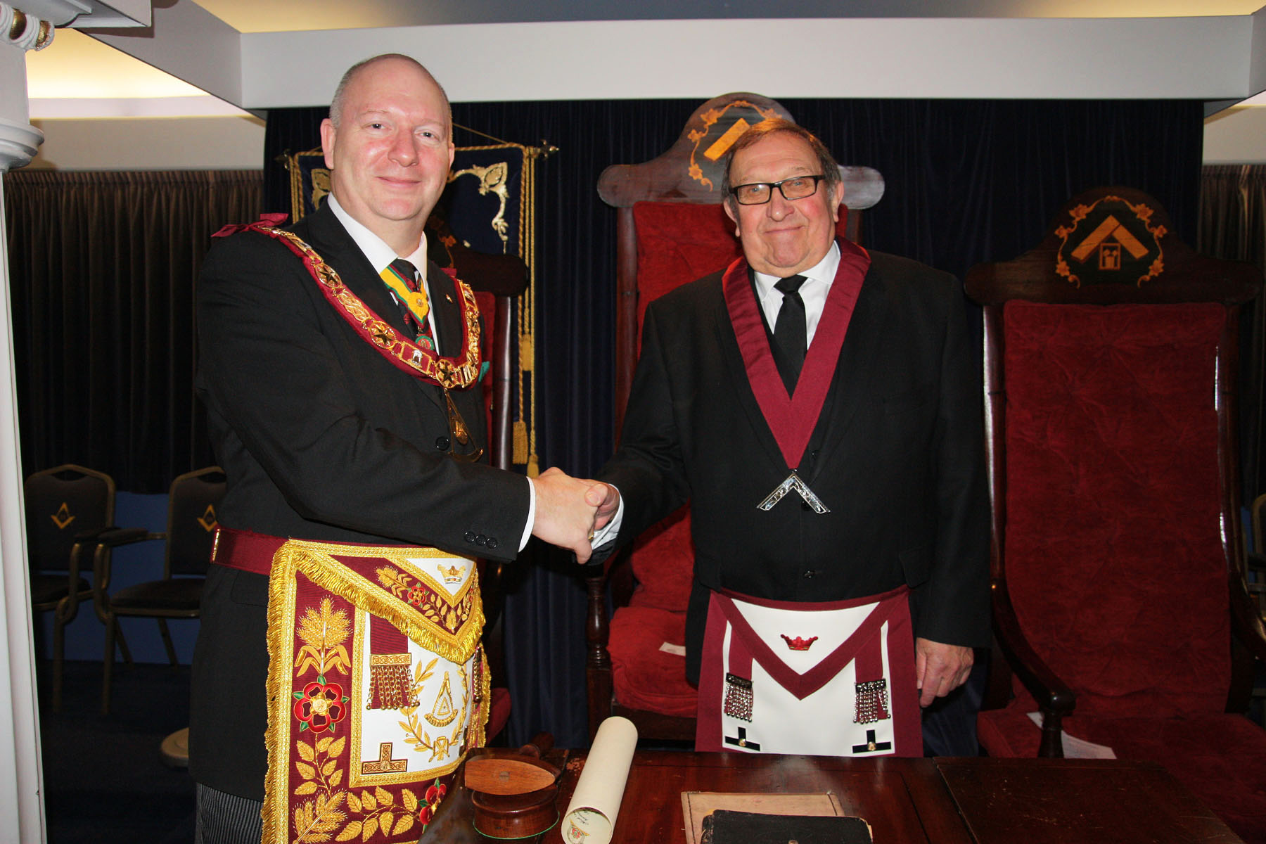 PConsecration of the Court of Wiht-Land No. 123